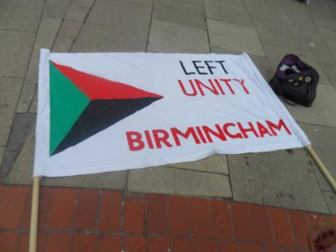 A Left Unity Flag