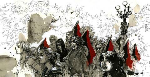 The Attack on Exarchia, an Anarchist Refuge in Athens