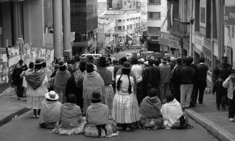 Blockade Bolivia