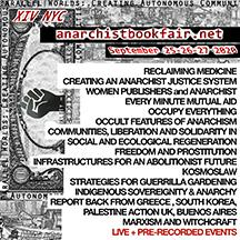 New York City Virtual Anarchist Bookfair