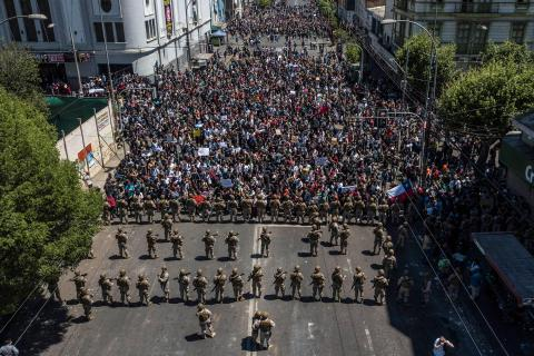 On the Front Lines in Chile