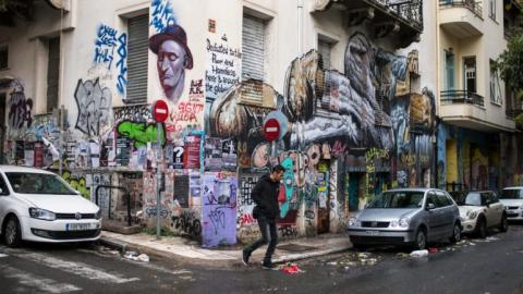 The Anarchist Neighborhood of Athens