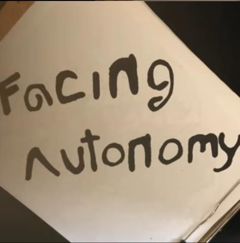 "more like ""defacing autonomy"" amirite"