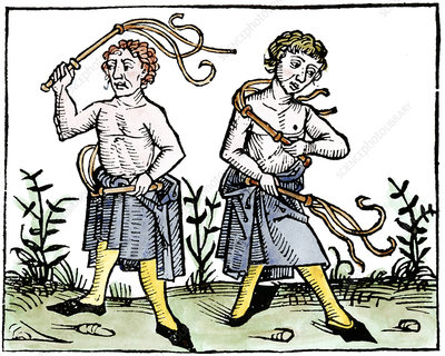 plague flagellants
