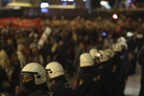 New Democracy: The New Face of State Violence in Greece