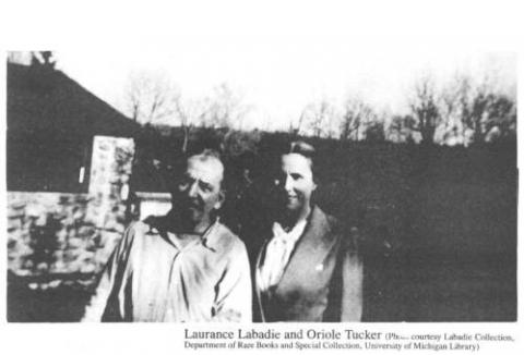 Laurence Labadie and Oriole Tucker