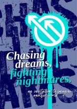Chasing Dreams, Fighting Nightmares Zine Cover