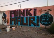 """""""PUNKI MAURI. 12 years...you live on in the revolt!"""""""