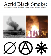 Acrid Black Smoke Revisiting Blessed is the Flame in Insurrection and Anti-politics