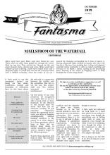 FANTASMA Nr. 3 (OCTOBER 2019)