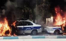 Anarchist Comrades Report on November Uprising and Complete Disarmament of Riot Police in Iran